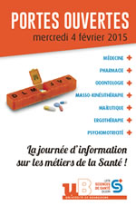 Visuel JPO2015 Sciences-Sante